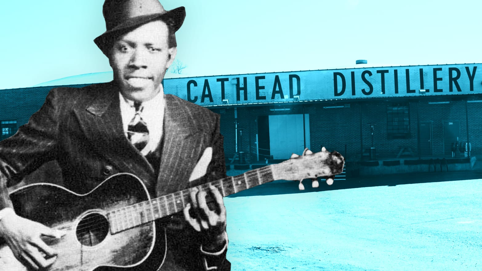 Drinking at the Crossroads With the Ghost of Robert Johnson