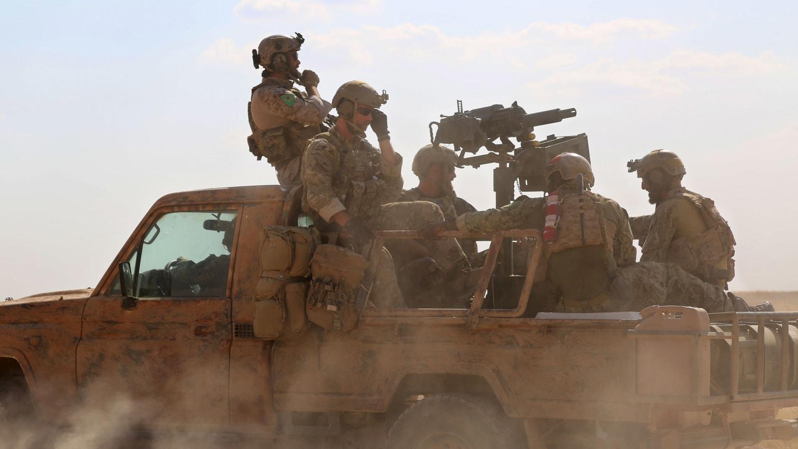 Turkey Leaks Secret Locations of U S  Troops in Syria