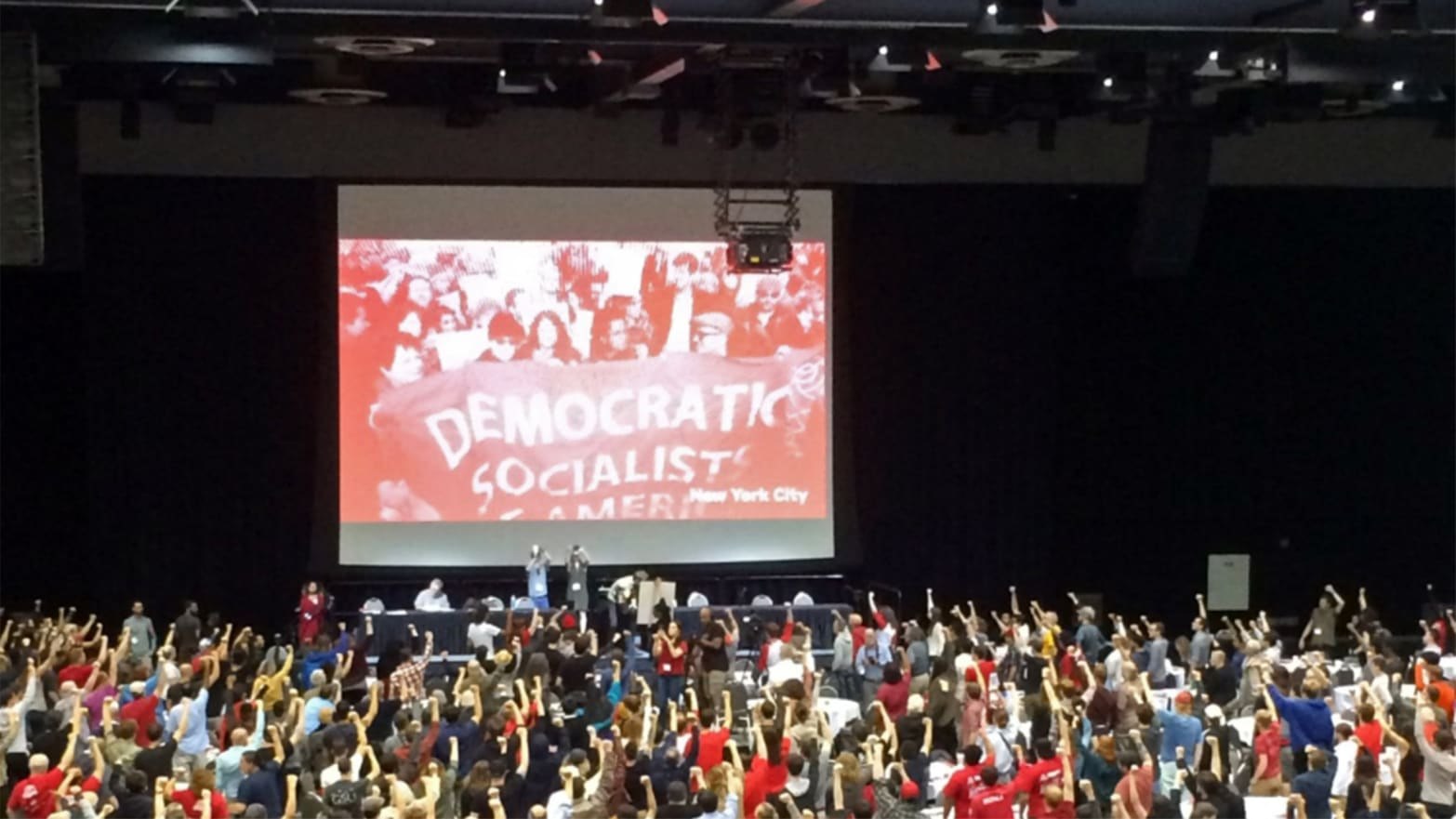 The Democratic Socialists of America Are Dreaming Big but