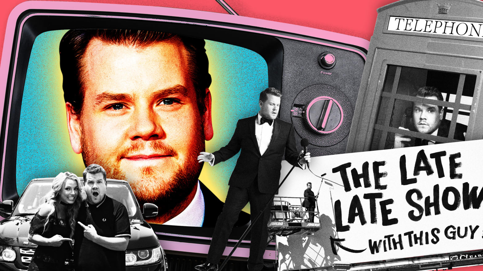 James Corden has wildly exceeded his own expectations.