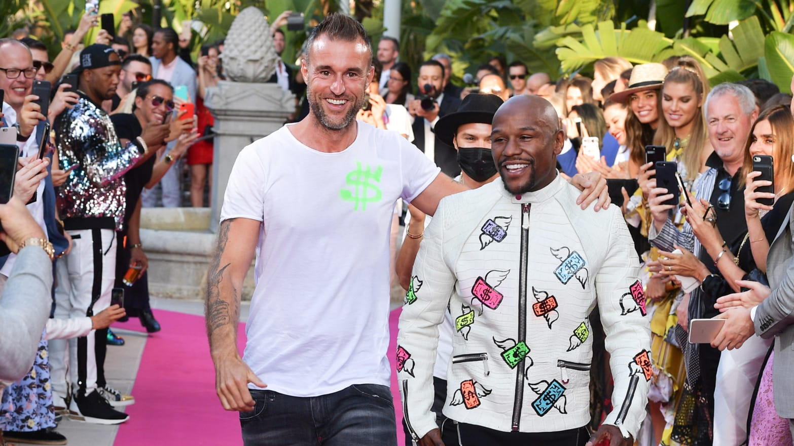 Fashion Designer Philipp Plein Teams Up With Floyd Mayweather Says Boxer Isn T Anti Gay