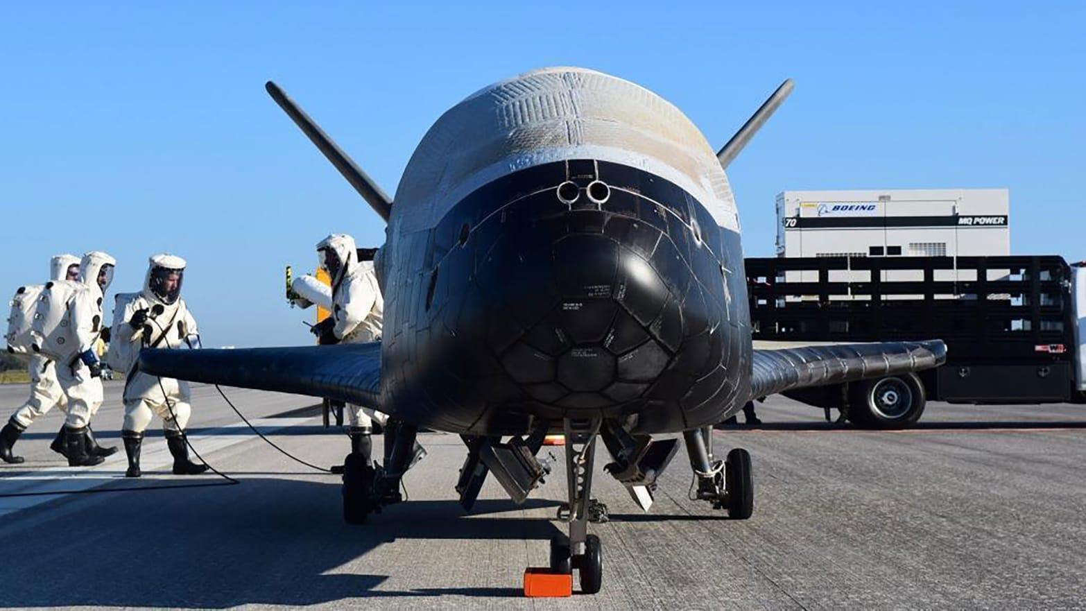 U.S. Air Force's X-37B Orbital Test Vehicle 4