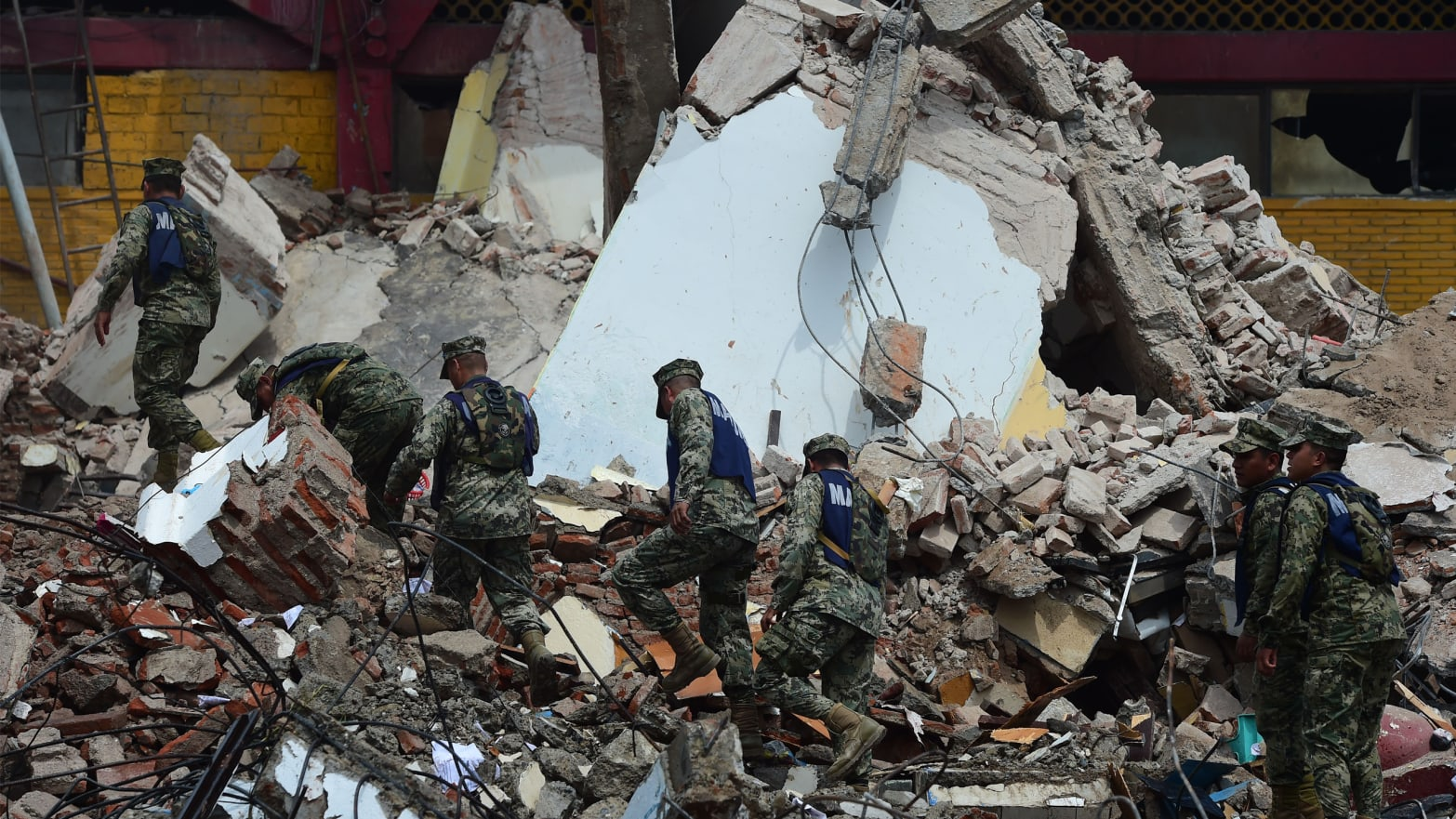 The most powerful Mexican quake in a century has caused 58 deaths––and counting.