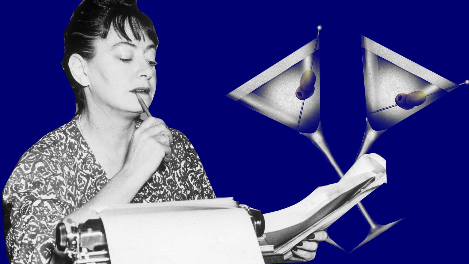 The Dodgy Origins of Dorothy Parker's Famous Martini Quote