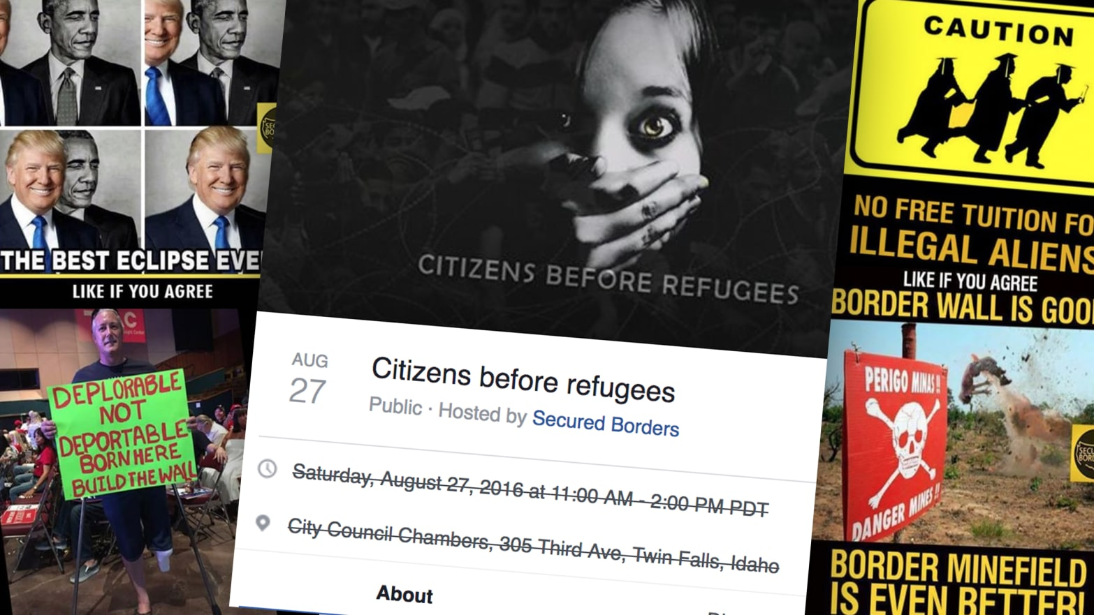 Russia Used Facebook Events to Organize Anti-Immigrant Rallies on U.S. Soil