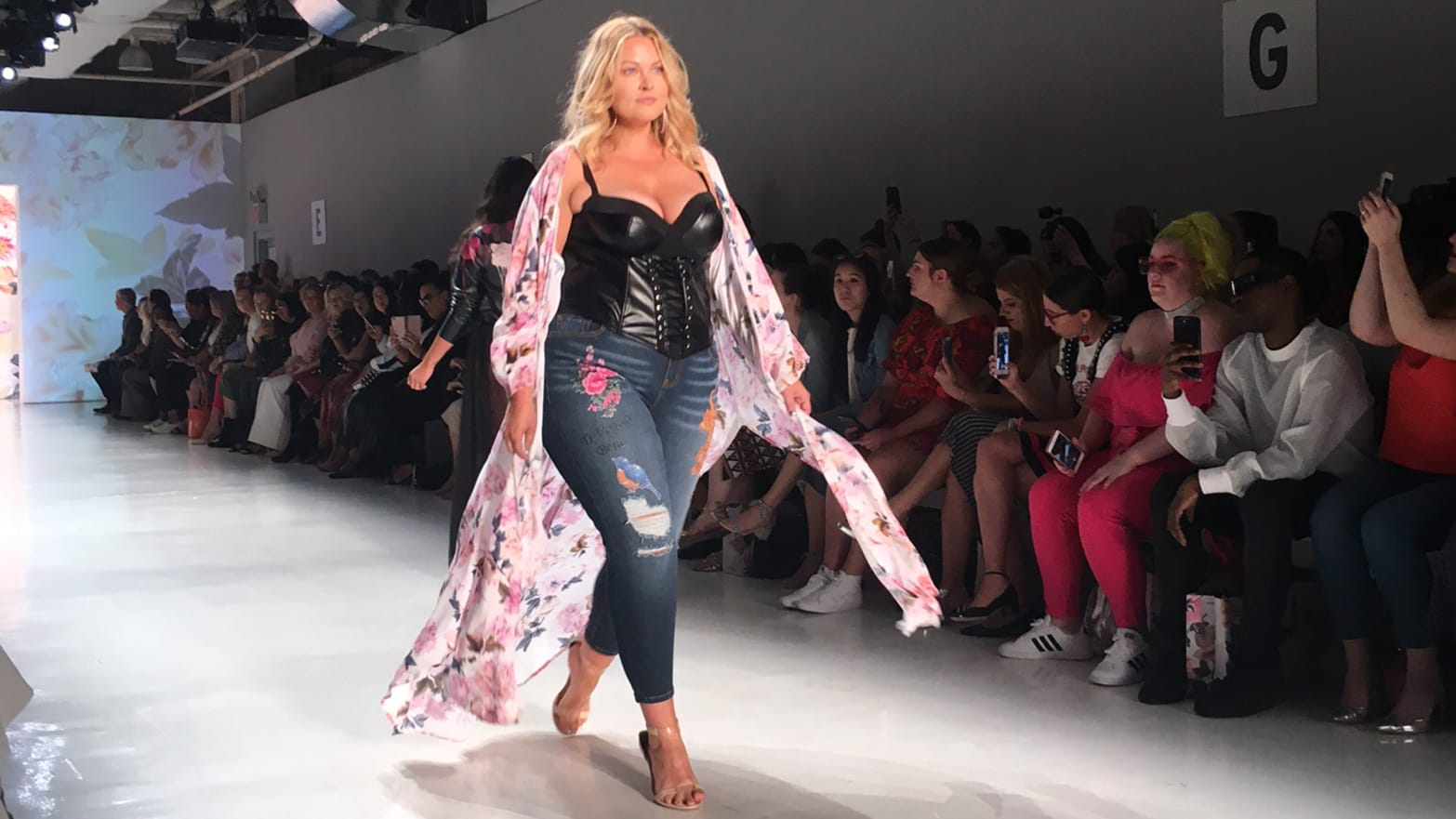 Torrid's Plus-Size NYFW Show Defied Trump's Political Ugliness, Beautifully
