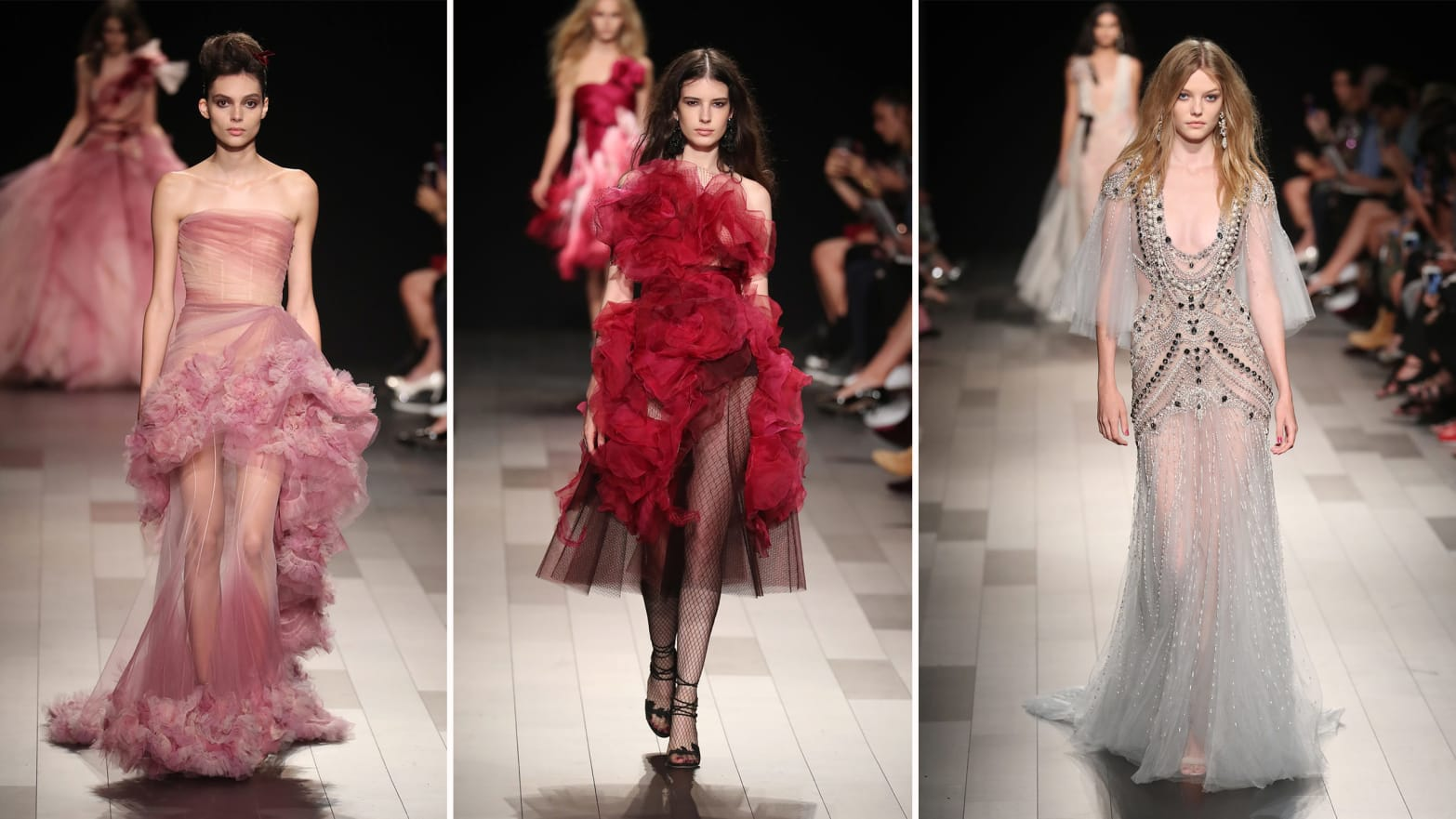 The Perfect Designer For a Disney Princess: NYFW Reviews of Marchesa and Zang Toi