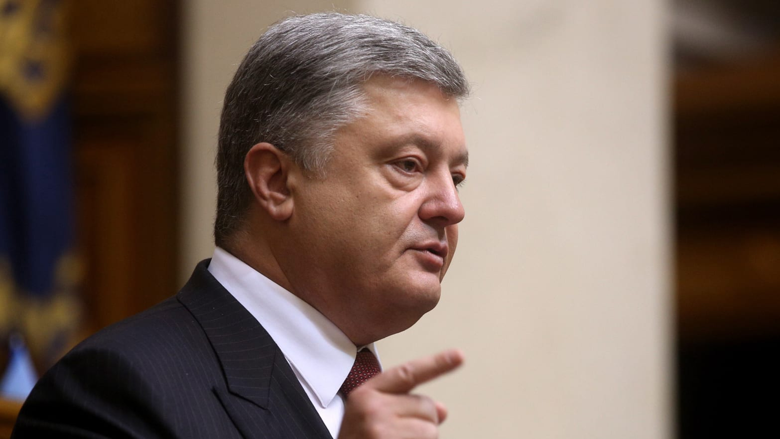 Ukraine's Poroshenko Denounces Putin's Aggression in No Uncertain Terms
