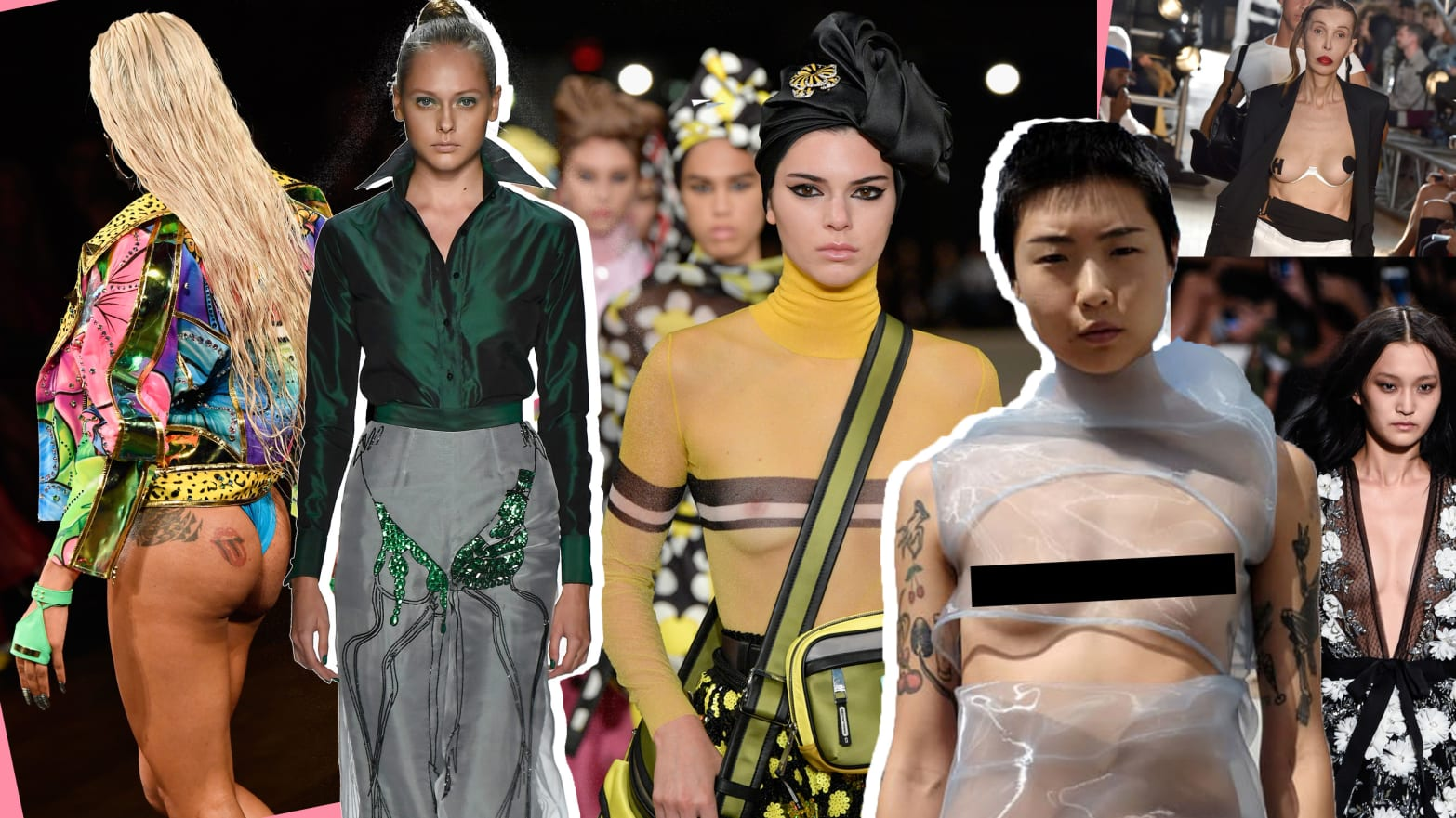 Nipples and Nudity at New York Fashion Week