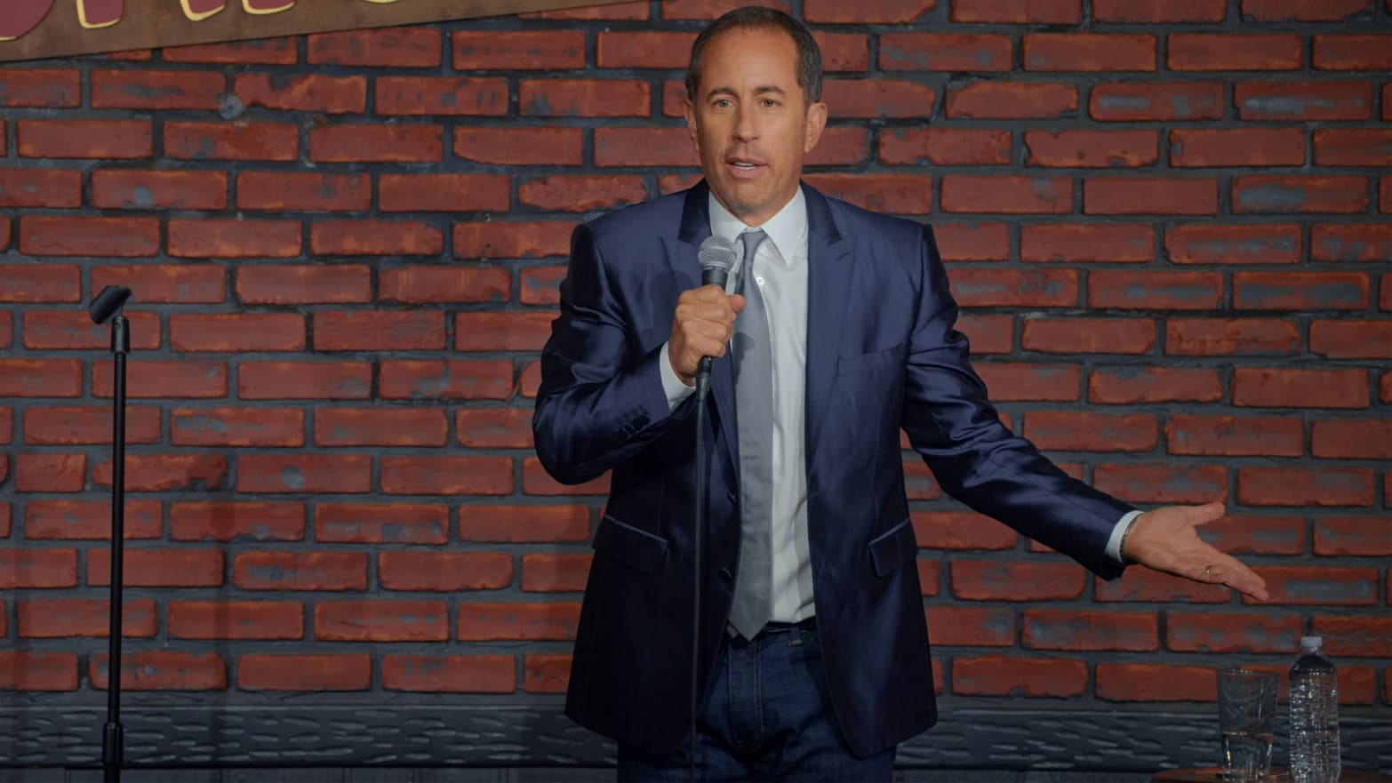 Jerry Seinfeld's Stand-Up Comedy Is Still About Nothing. But Should It Stand for Something?