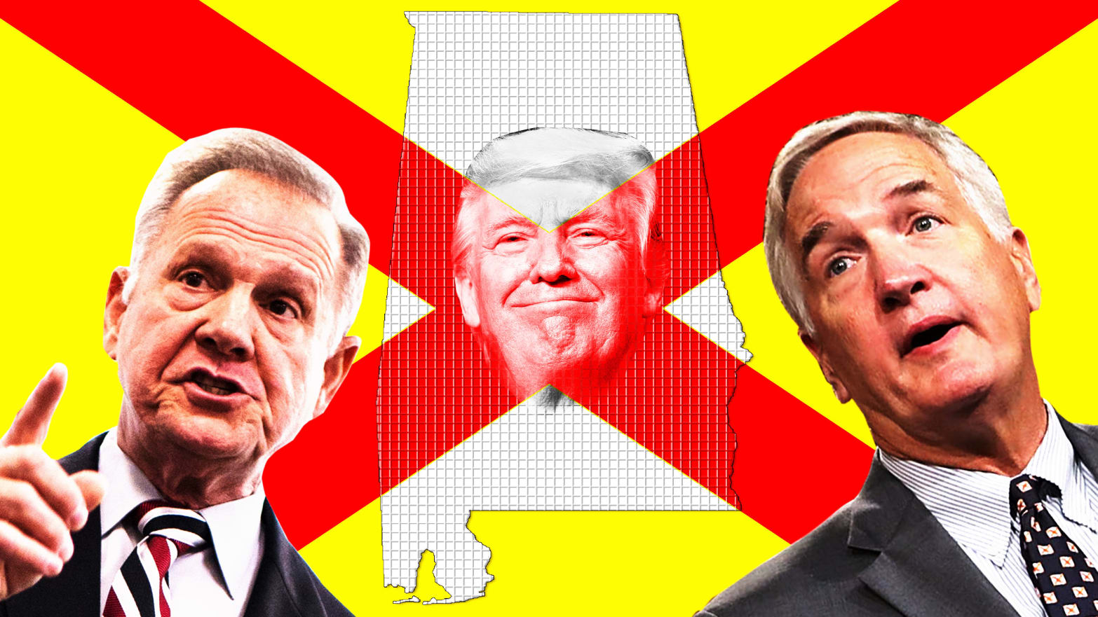 Trump Factions Battle in Bama Over a Senate Race and a Presidency's Future