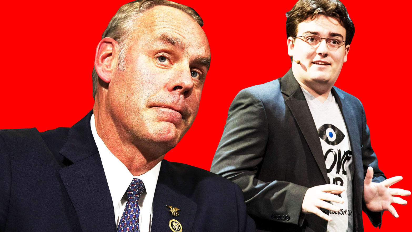 The Inside Story Of How Palmer Luckey Scored a Meeting With the Interior Secretary