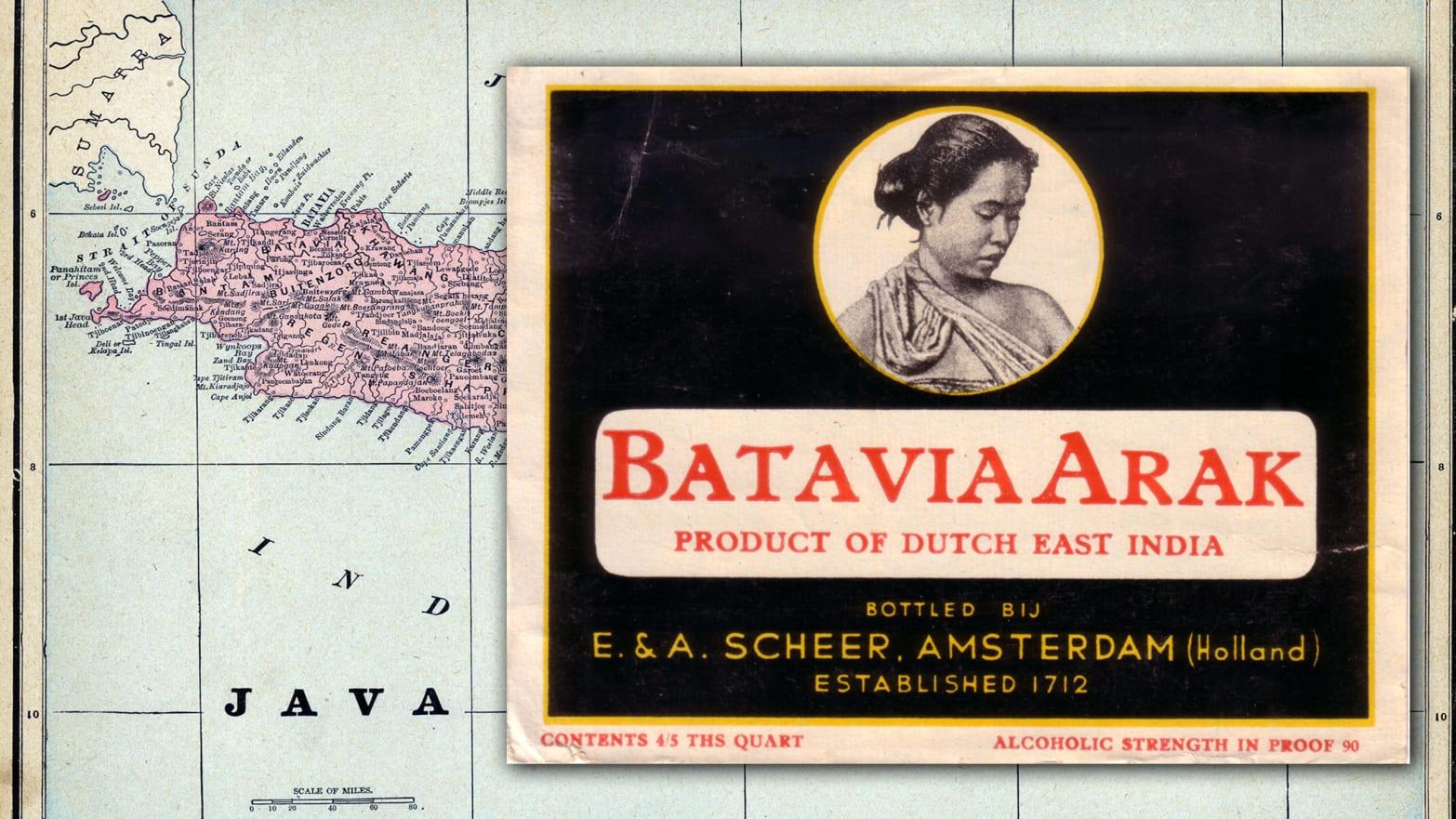 Rediscovering the World's First Luxury Spirit Batavia Arrack