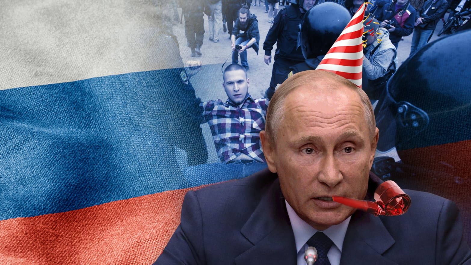 For Putin's 65th Birthday, a Crackdown on His Opponents