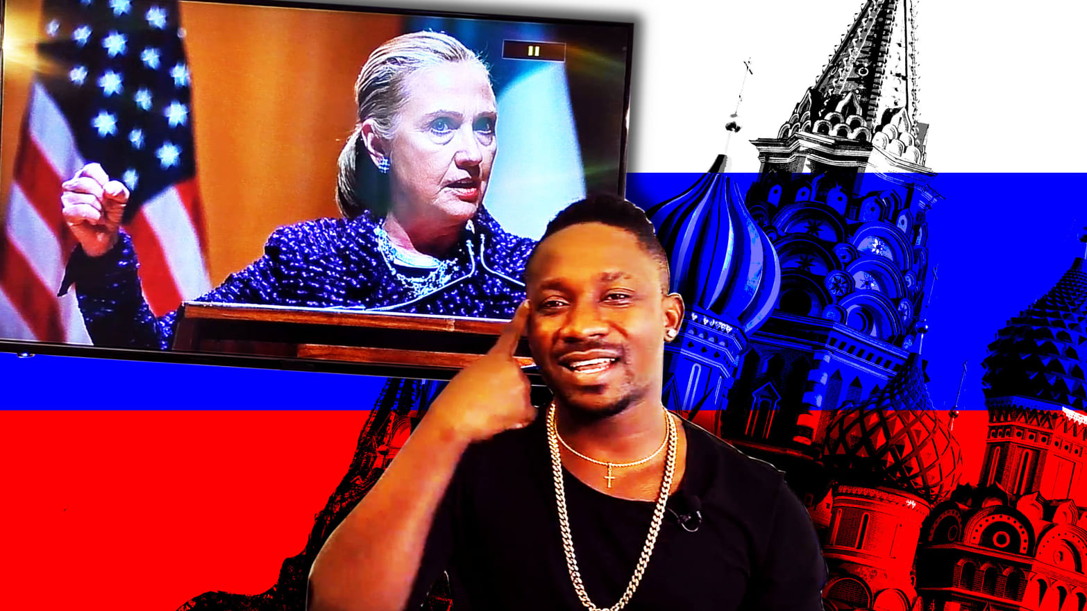 Russia Recruited YouTubers to Bash 'Racist B*tch' Hillary Clinton Over Rap Beats