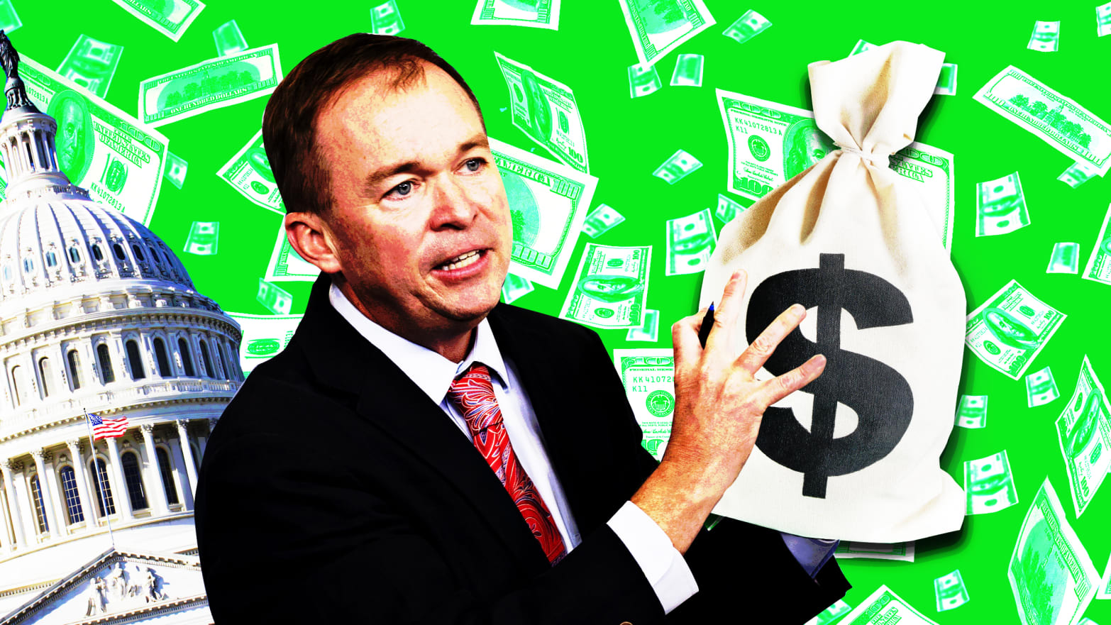 Trump Budget Director: What, Me Worry (About The National Debt)?