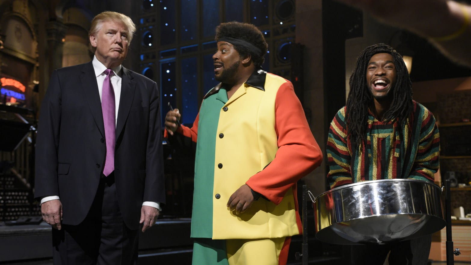 Jay Pharoah: When Trump Hosted SNL 'Nobody Would Stand Next to Him'