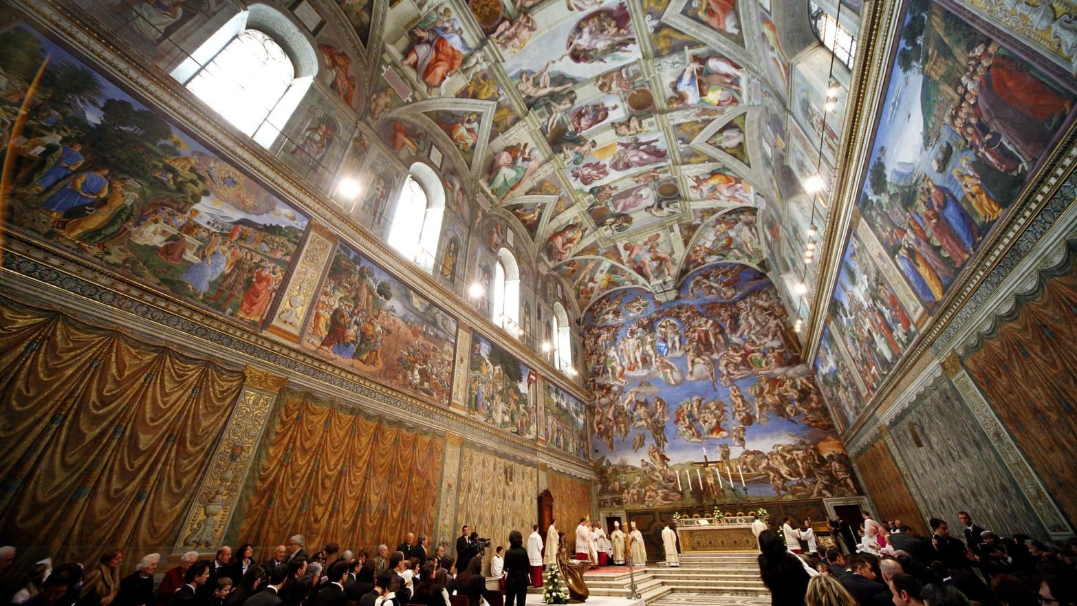 Kết quả hình ảnh cho sistine chapel