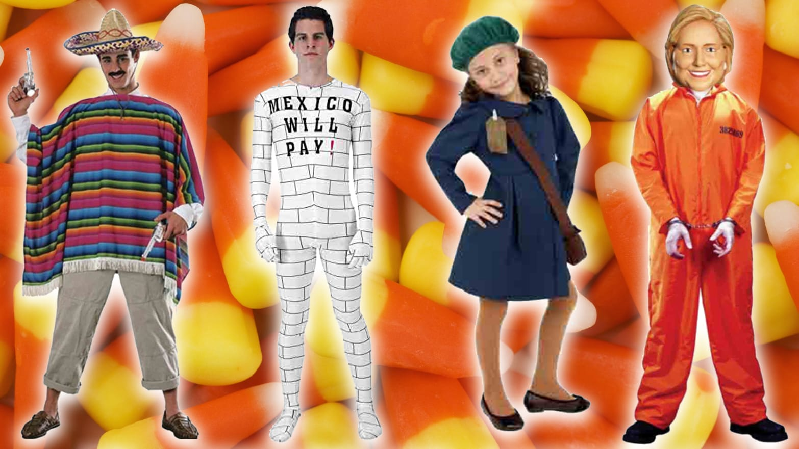 The Most Offensive Political Costumes of 2017
