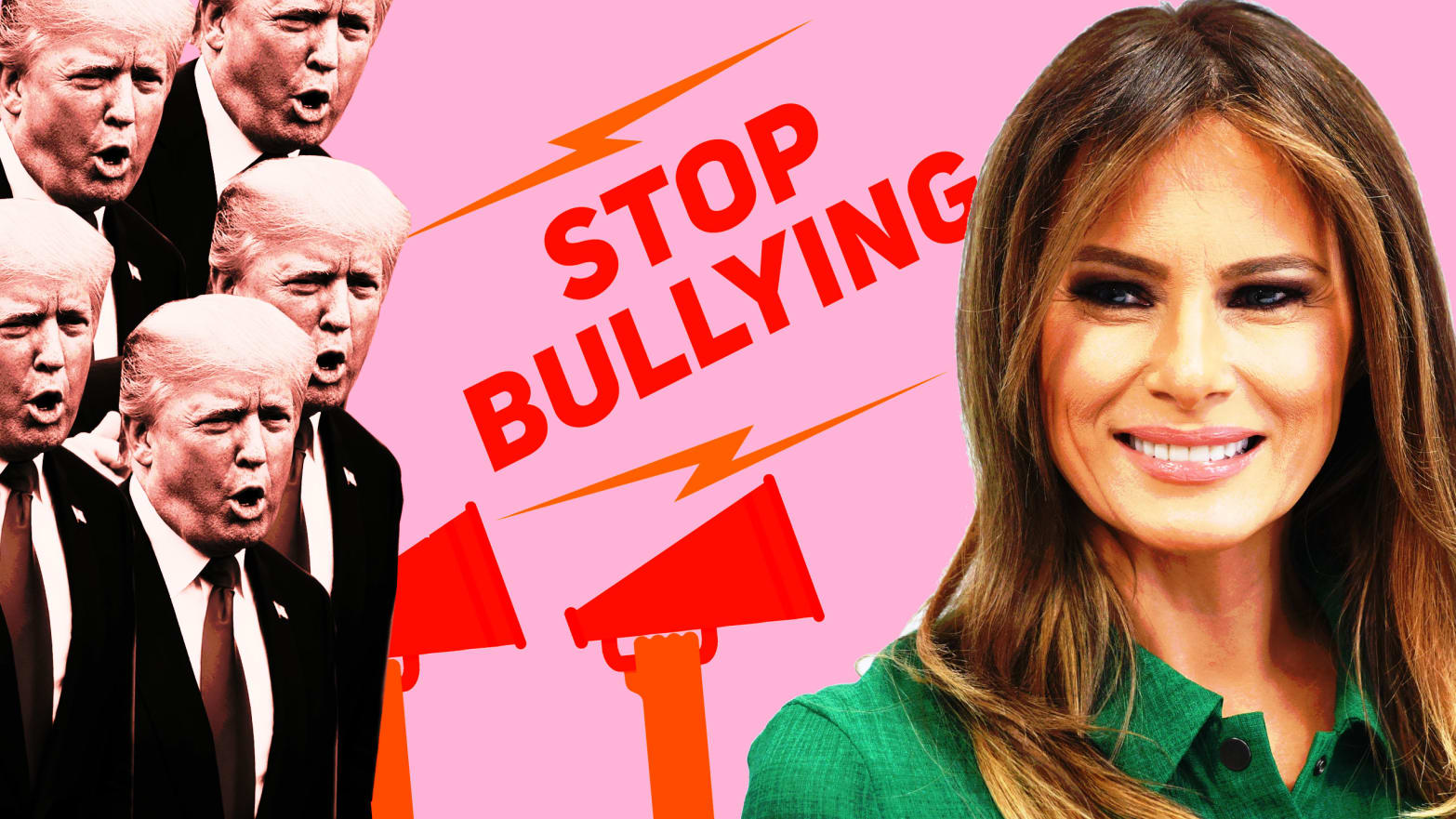 Her Husband Made It The Perfect Day For Melania Trump To Speak Out Against Bullying