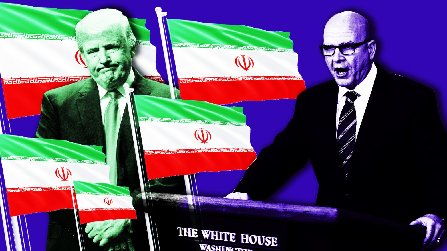 Iran's Running Circles Around Trump—But McMaster Thinks the Press Can Save Him