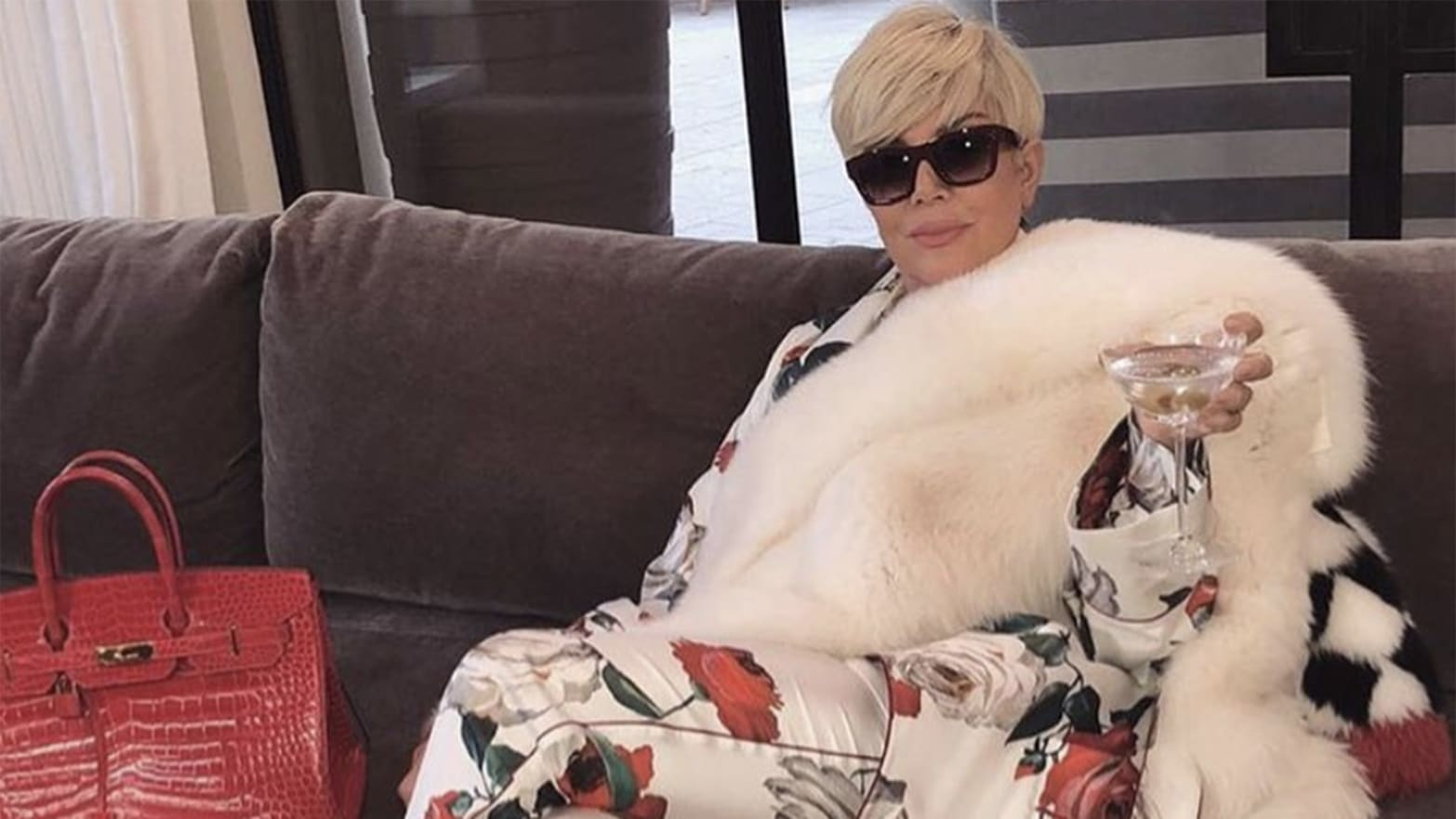 Kris Jenner, America Thanks You For Going Platinum, Albeit Too Briefly