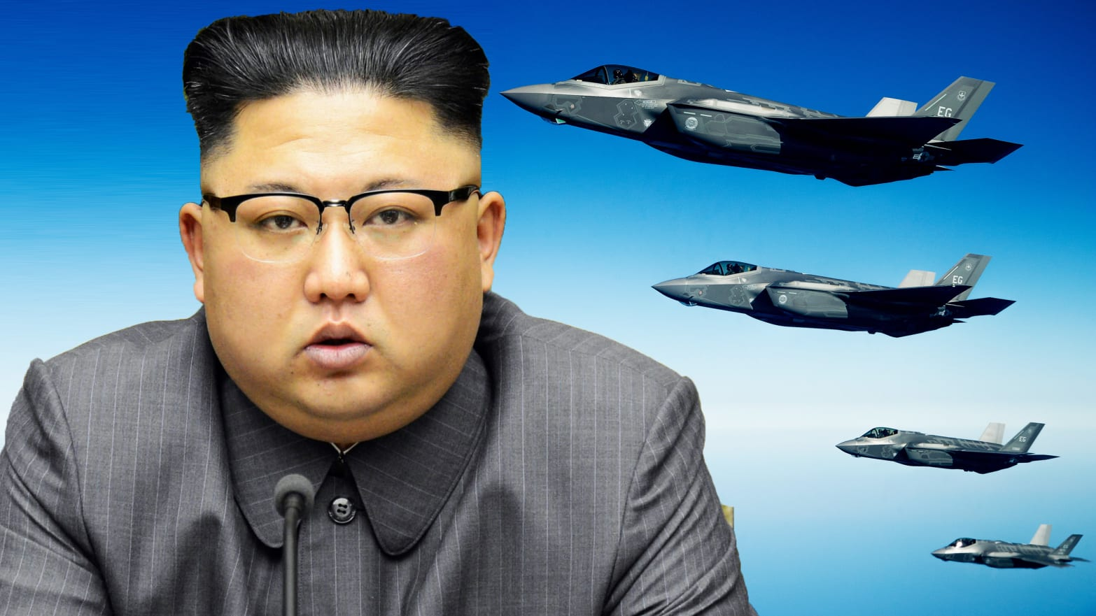 U.S. Sends Stealth Jets Into North Korean Crisis