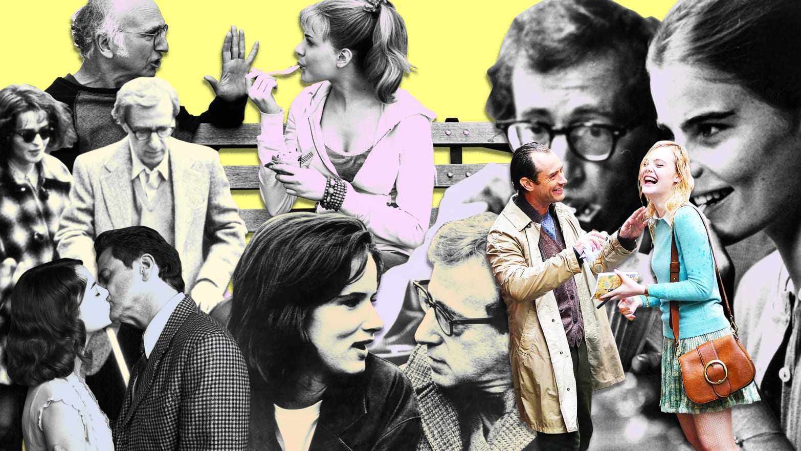 Woody Allen's Creepy Obsession with Adult-Teen Romances