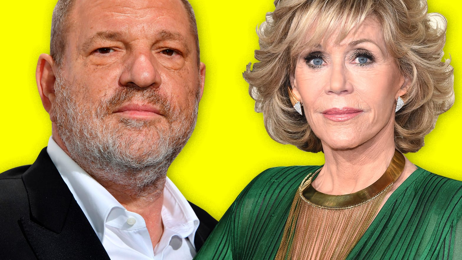 Jane Fonda Gets It: Weinstein's Victims Are White and Famous, and That's Why We Care