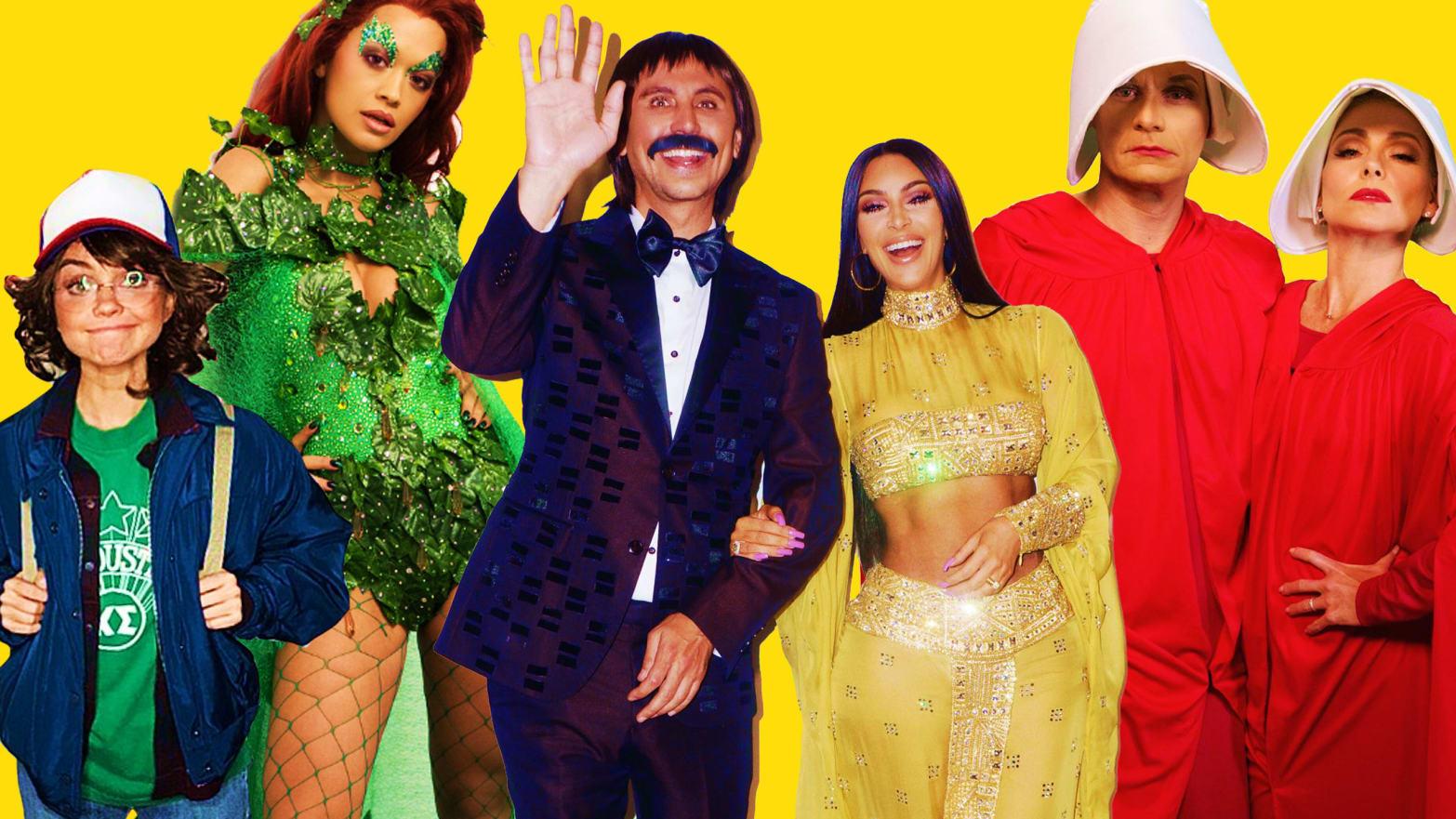 The Best Celebrity Halloween Costumes Of 2017