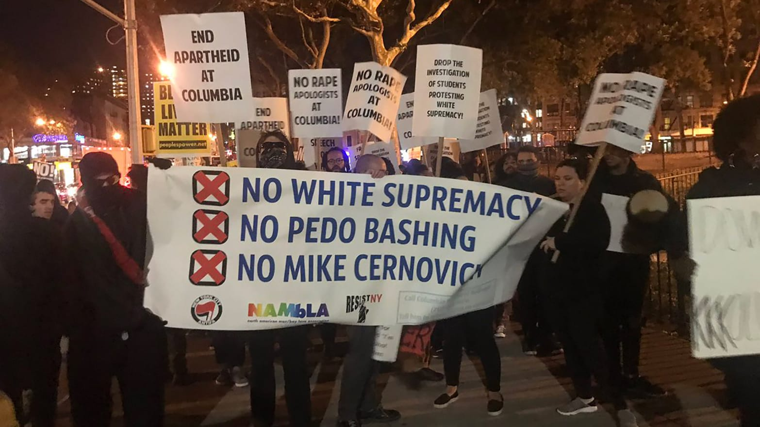 Alt Right Frames Protesters As Pedophiles With Fake Nambla