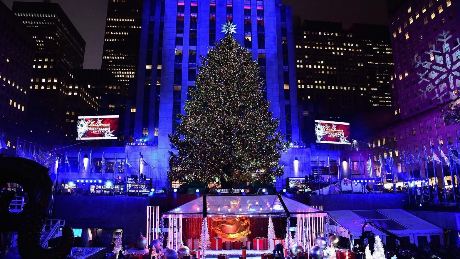 2017 Rockefeller Center Christmas Tree Lighting Ceremony: How to Watch, Live Stream