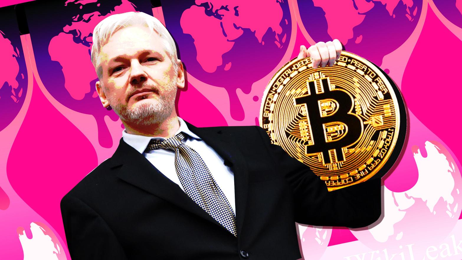 wikileaks bitcoin trader