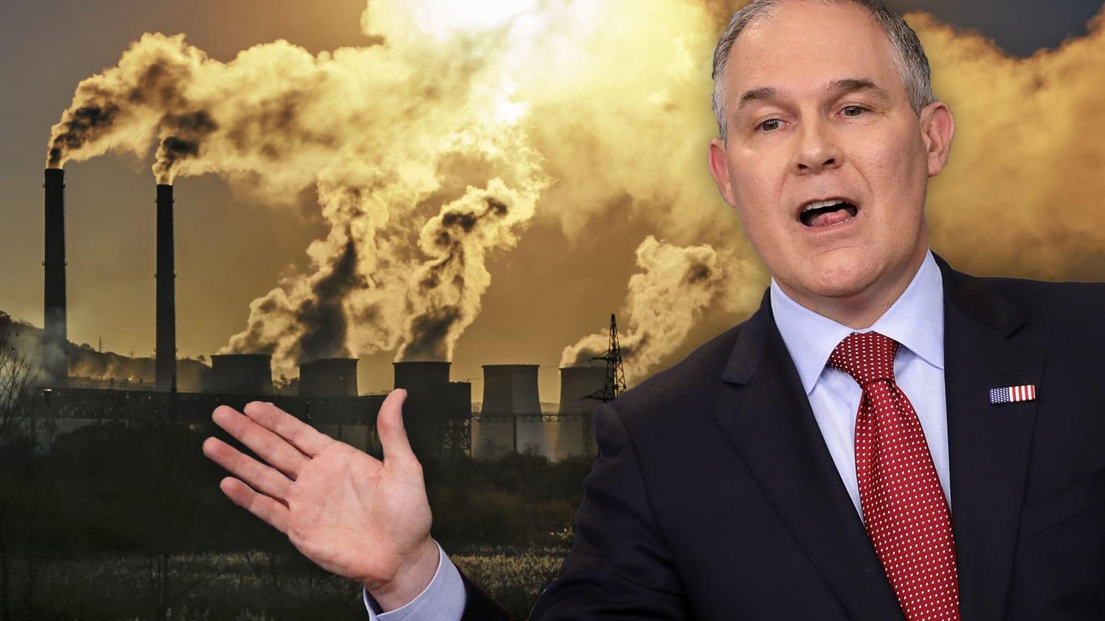 The Ten Worst Things Scott Pruitt's EPA Has Already Done