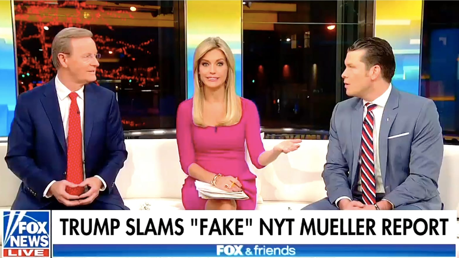 Fox & Friends' Gives Laughable Defense of Trump on Mueller: 'Do You