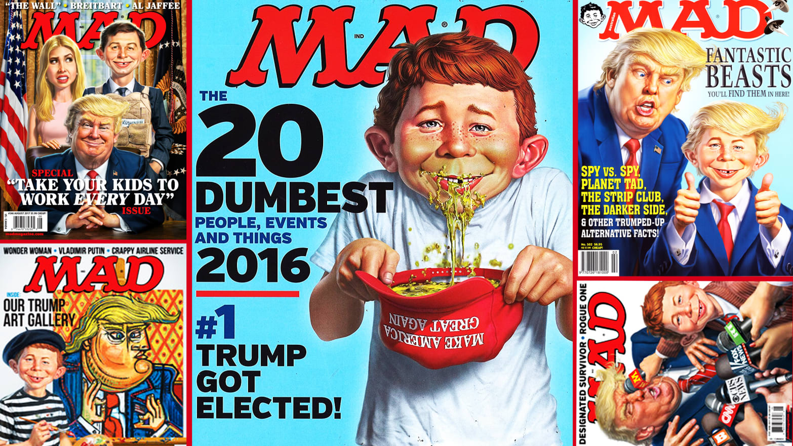 MAD Magazine Taught Us to Laugh but Now We Laugh At It