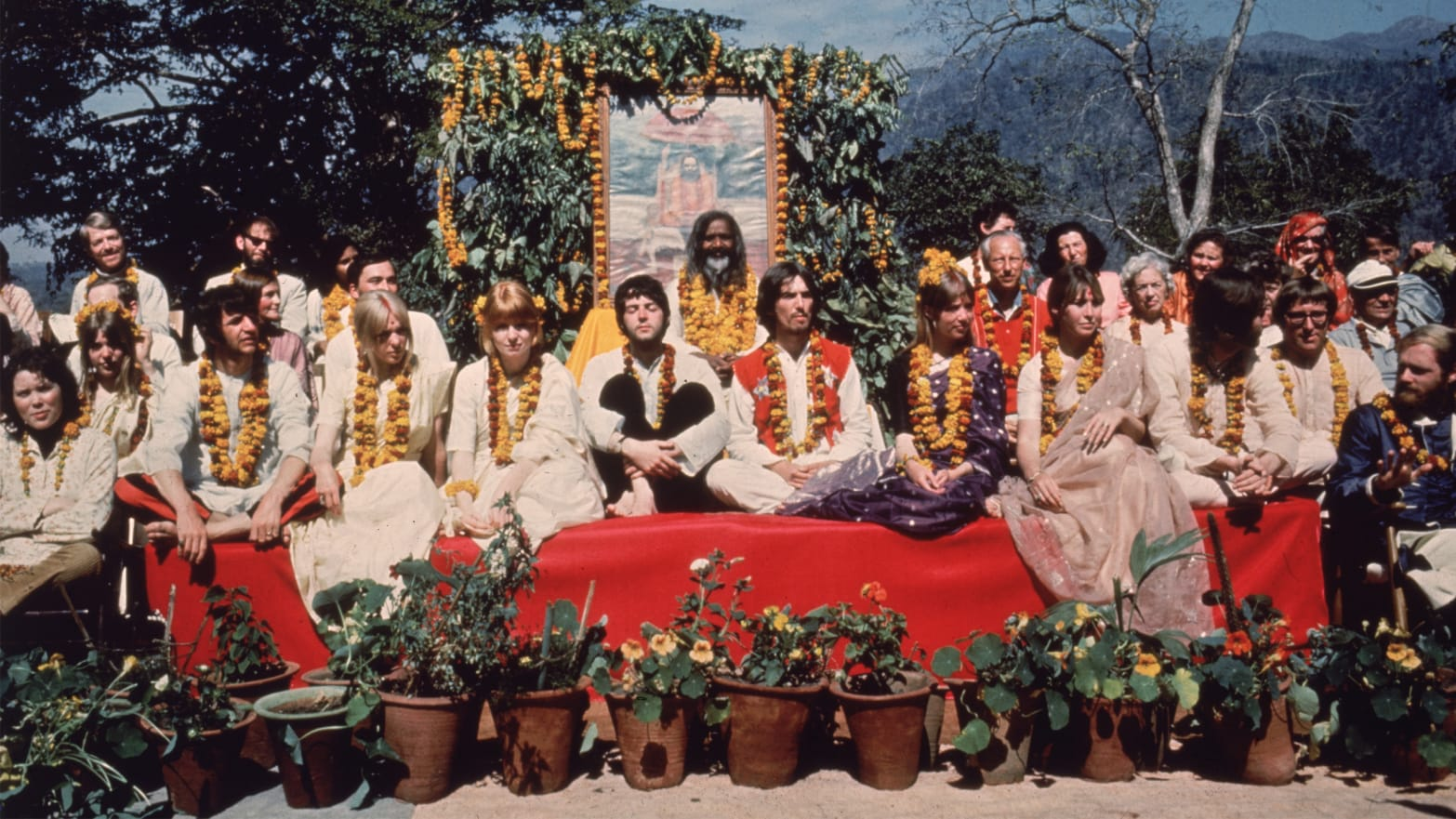 Image result for the beatles india