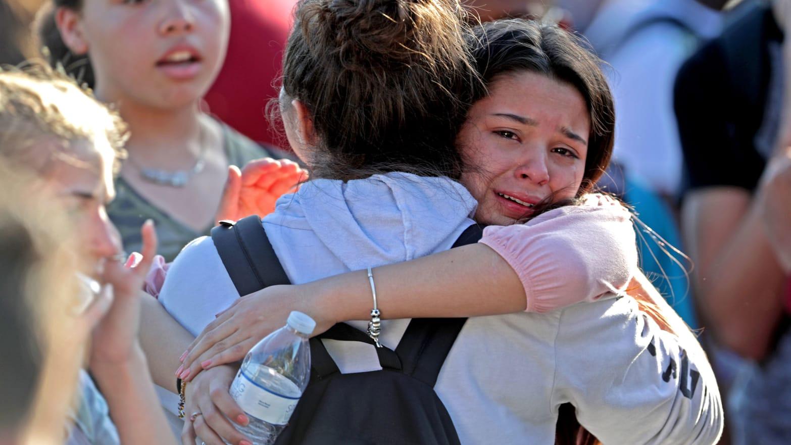 parkland columbine school shooting ptsd brain sandy hook newtown florida gun control