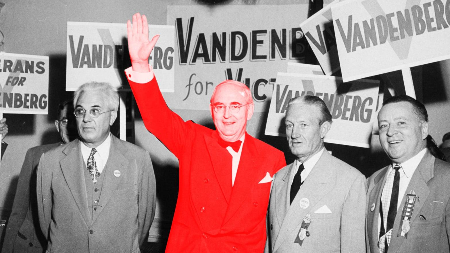 61e7772632 How  America First  Senator Arthur Vandenberg Became a Globalist Hero