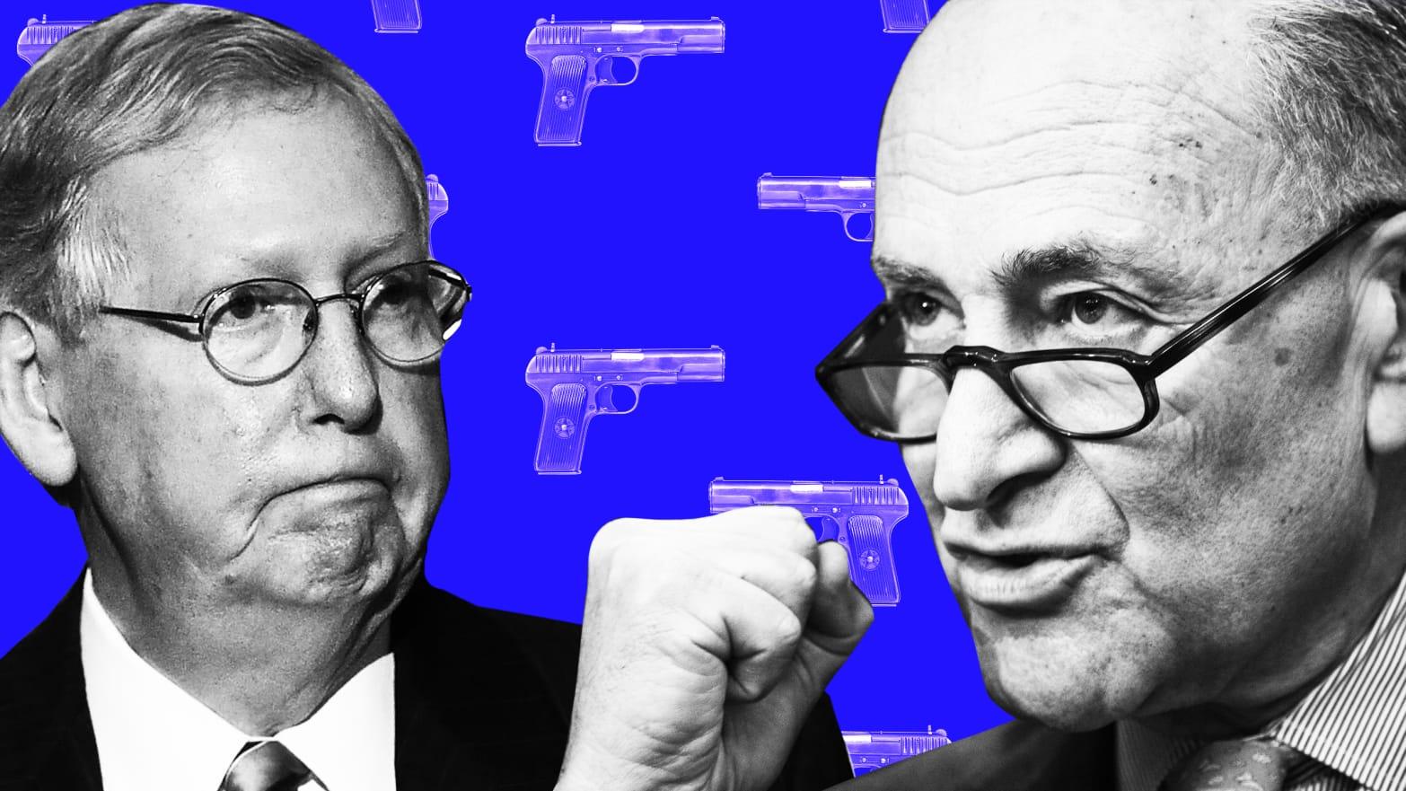 A Push for Gun Control Legislation Appears Dead in Congress  Again