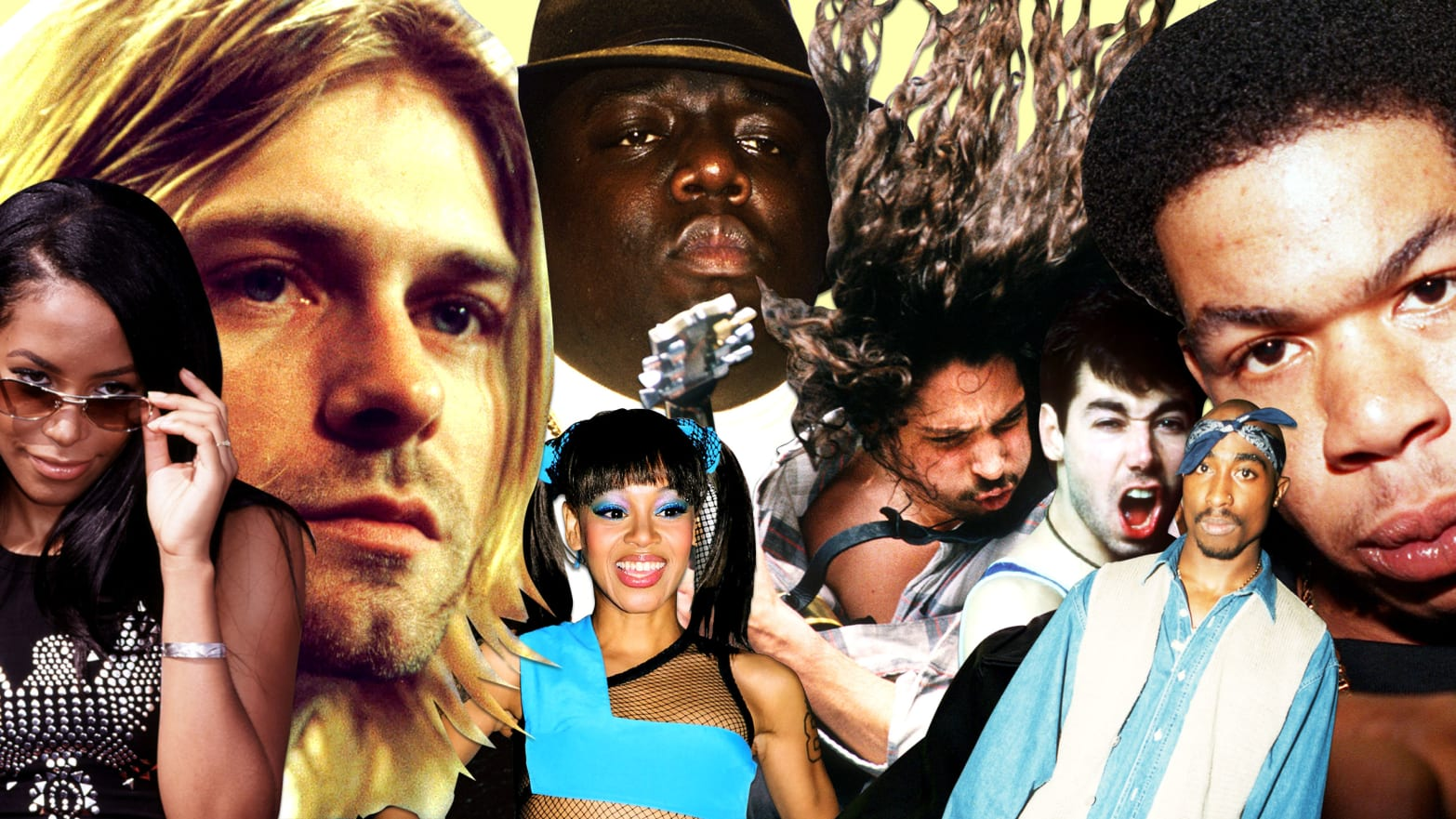 From Craig Mack to Chris Cornell: A Requiem for Mid-'90s Music