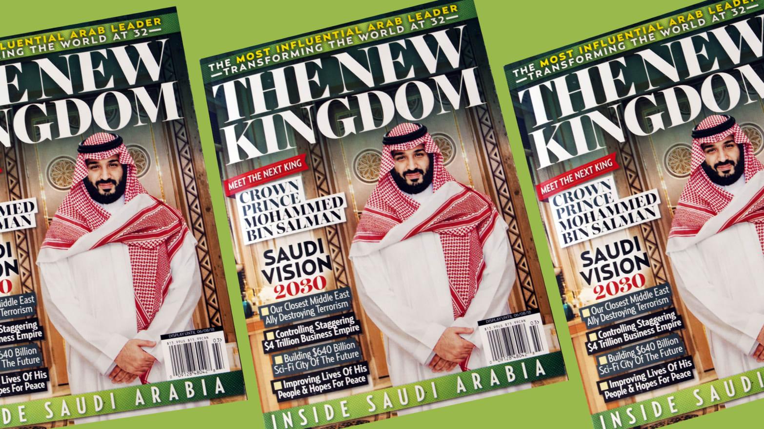 Trump's Publisher Pal Puts Saudi Propaganda Magazine in U S