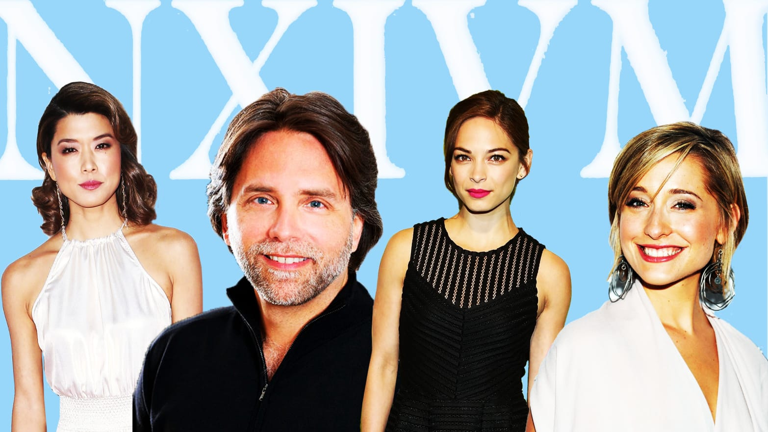 Allison Mack Tits the hollywood followers of nxivm, a women-branding sex cult