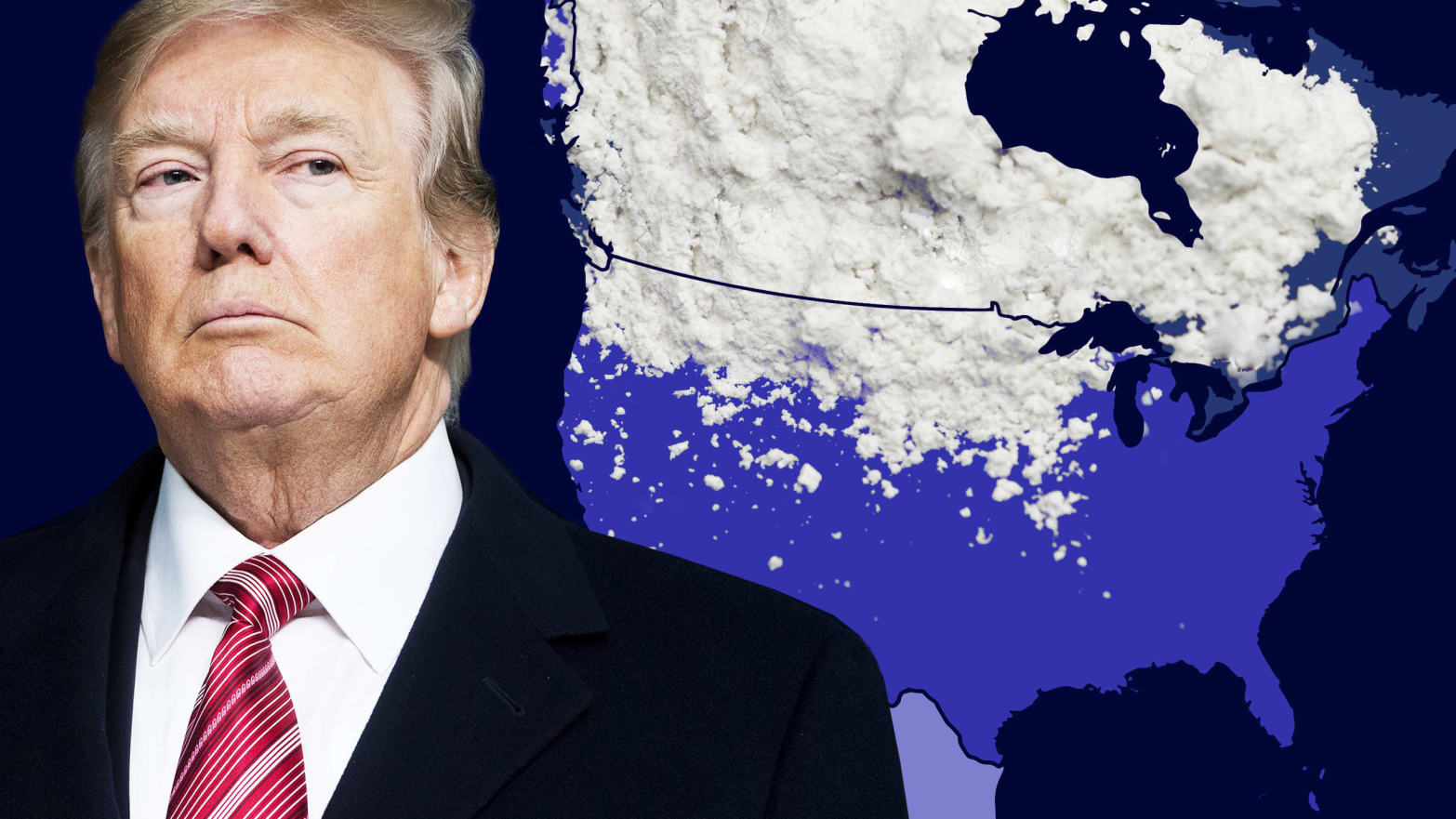 Trump Is Freaking Out About the Wrong Border: Killer Fentanyl Is