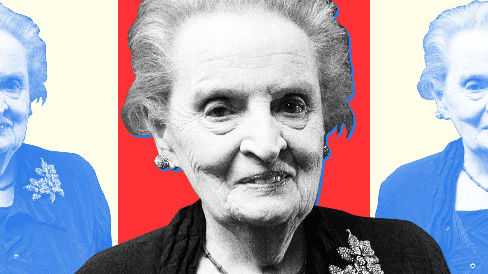 Andrea Lewis Nude madeleine albright knows fascism when she sees it