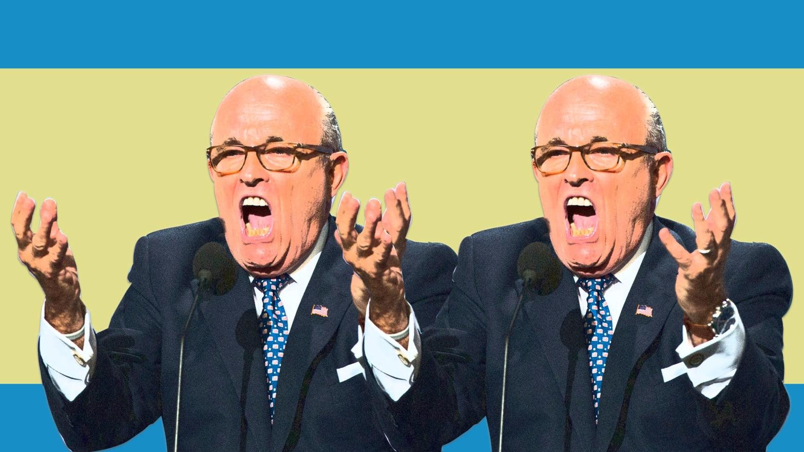 Image result for Giuliani is Mafia lawyer