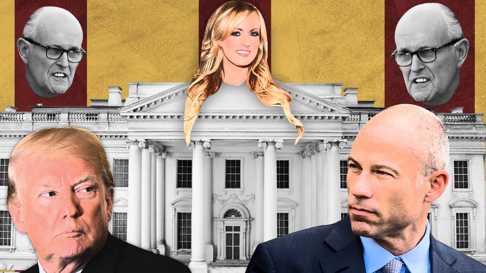 Trump Has No Plan to Counterpunch Michael Avenatti