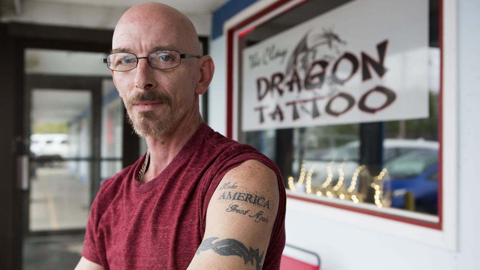 The Shop That Spawned 78 Trump Tattoos