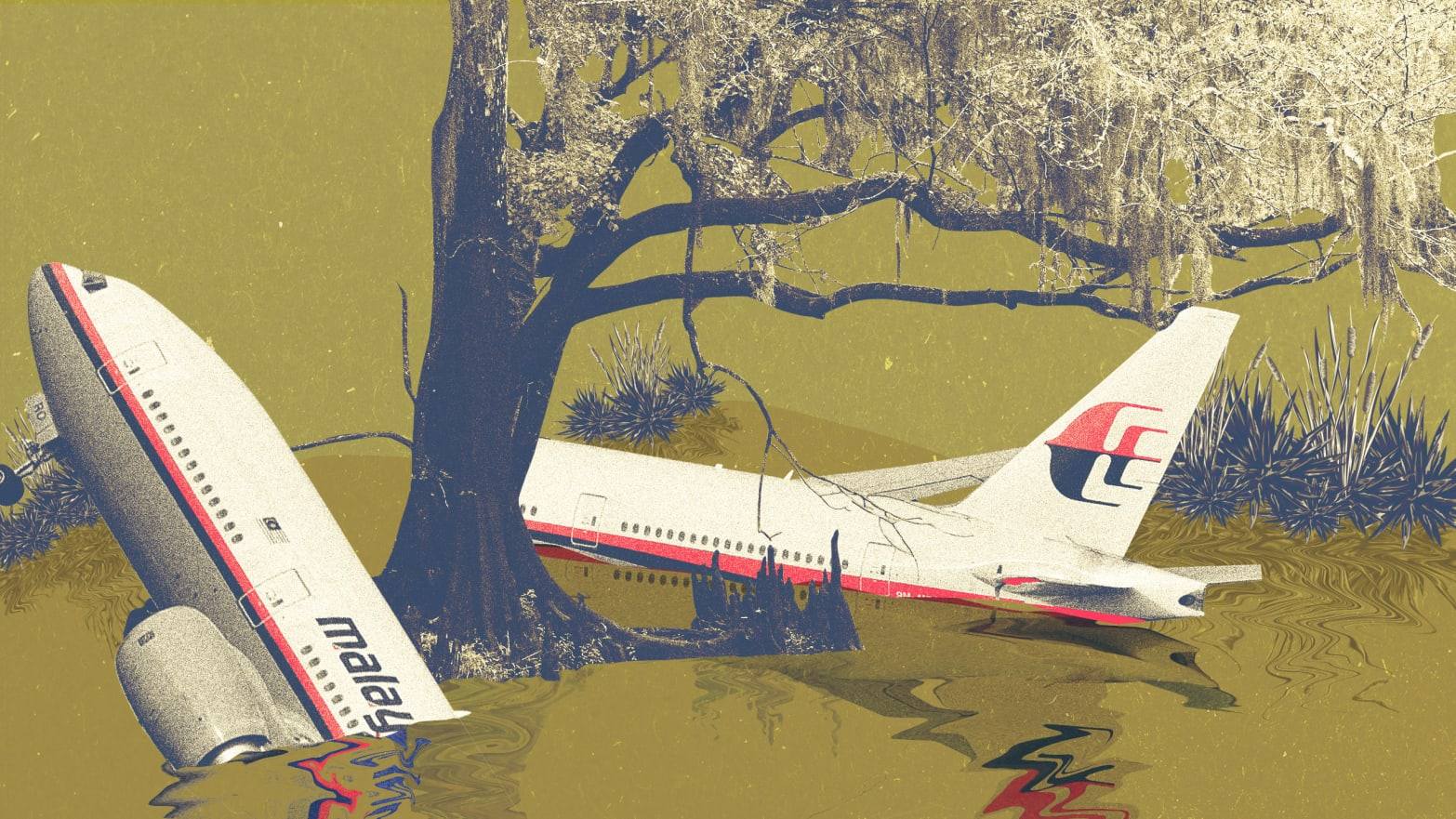 MH370 Didn't Just Disappear, It Was Caught in a Swamp of