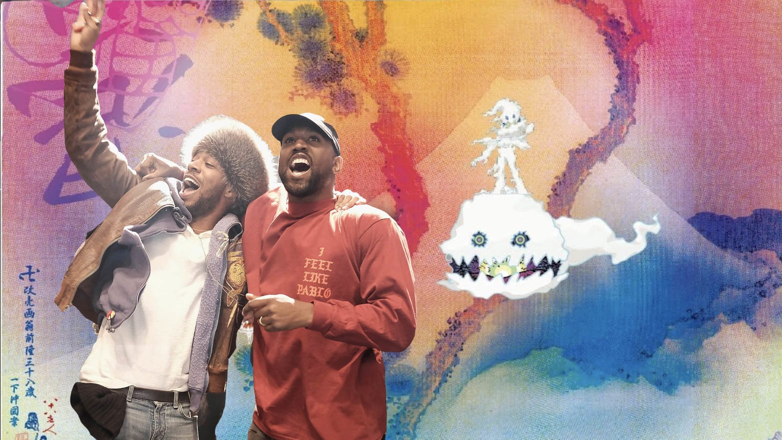 On Kids See Ghosts Kanye West And Kid Cudi Bare Their